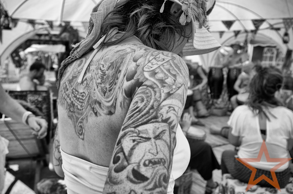 girl with a dragon tattoo